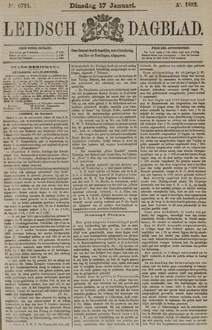 Leidsch Dagblad 1882-01-17