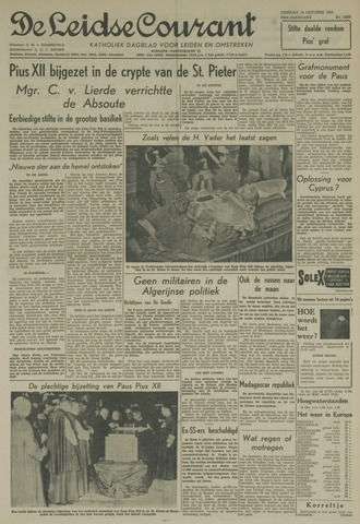 Leidse Courant 1958-10-14