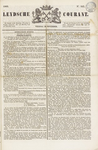 Leydse Courant 1862-11-28