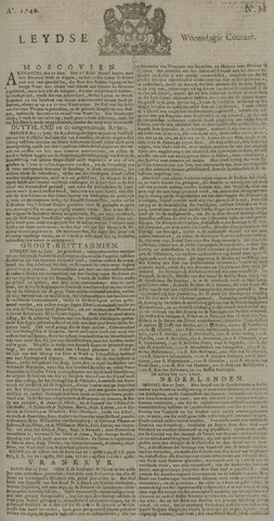 Leydse Courant 1740-06-29