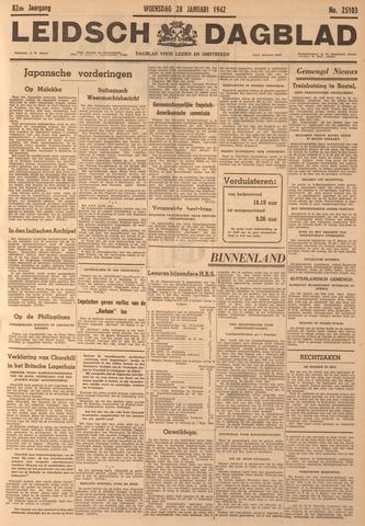 Leidsch Dagblad 1942-01-28