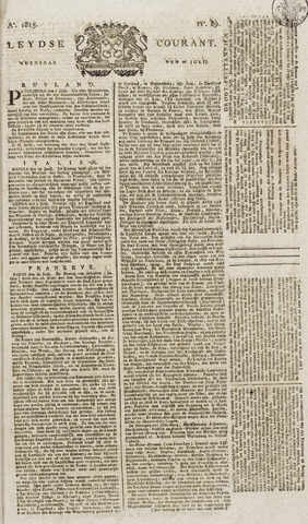 Leydse Courant 1815-07-26