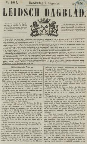 Leidsch Dagblad 1866-08-09