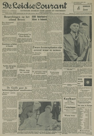 Leidse Courant 1958-07-09