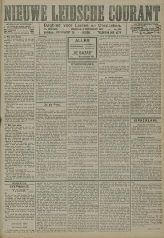 Nieuwe Leidsche Courant 1921-12-06