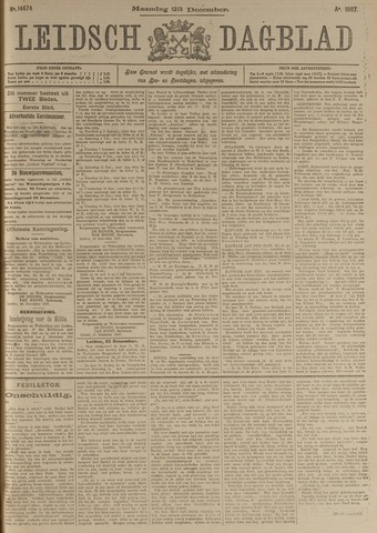 Leidsch Dagblad 1907-12-23