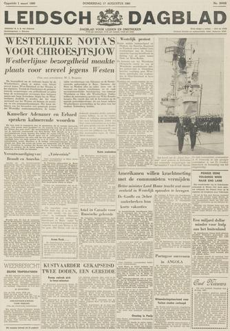 Leidsch Dagblad 1961-08-17