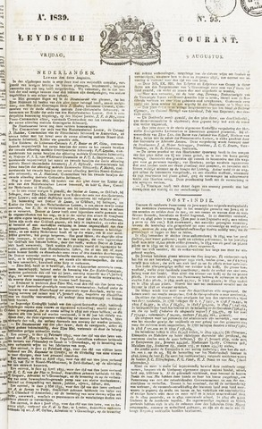 Leydse Courant 1839-08-09