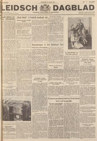 Leidsch Dagblad 1951-06-19