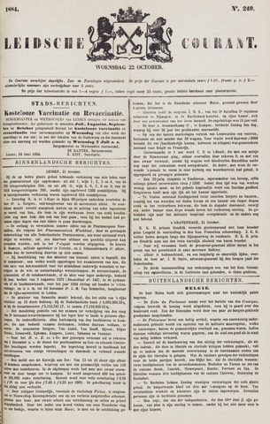 Leydse Courant 1884-10-22