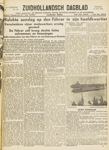 Zuidhollandsch Dagblad 1944-07-21