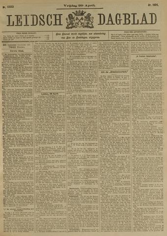 Leidsch Dagblad 1904-04-29