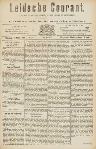 Leydse Courant 1889-04-09