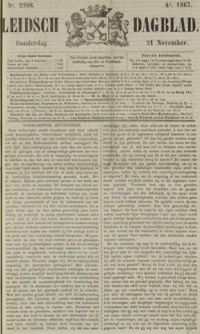 Leidsch Dagblad 1867-11-21