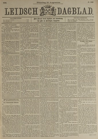 Leidsch Dagblad 1896-08-11