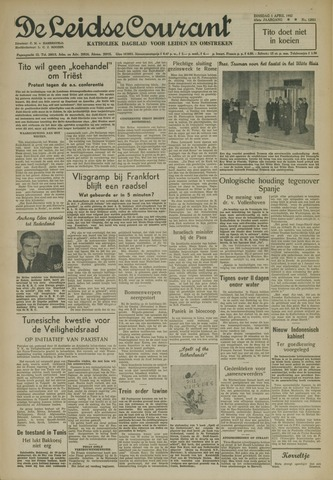 Leidse Courant 1952-04-01