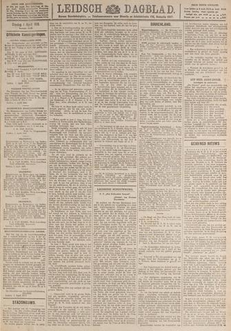 Leidsch Dagblad 1919-04-01