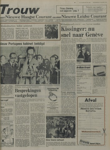 Nieuwe Leidsche Courant 1975-03-27
