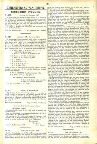 Handelingen van de Raad 1917-11-12