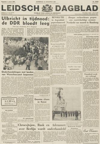 Leidsch Dagblad 1961-08-12