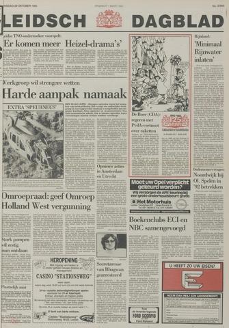 Leidsch Dagblad 1985-10-29