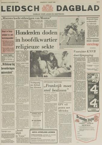 Leidsch Dagblad 1978-11-20