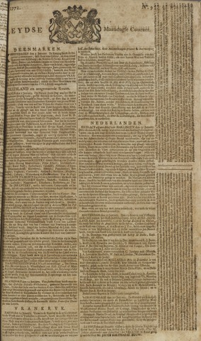 Leydse Courant 1771-01-21