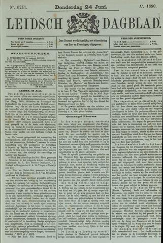 Leidsch Dagblad 1880-06-24