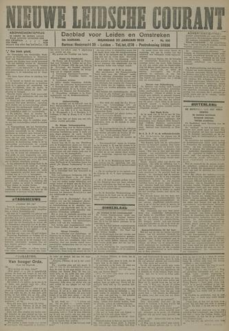 Nieuwe Leidsche Courant 1923-01-22