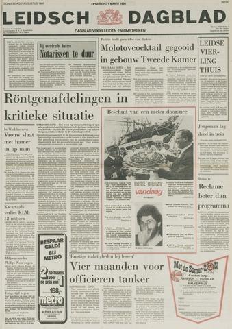 Leidsch Dagblad 1980-08-07