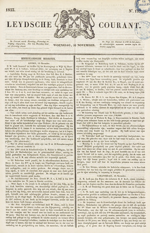 Leydse Courant 1853-11-16
