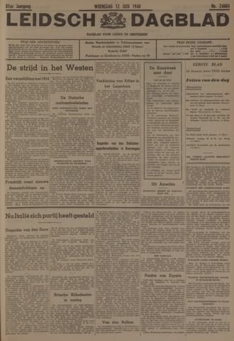 Leidsch Dagblad 1940-06-12