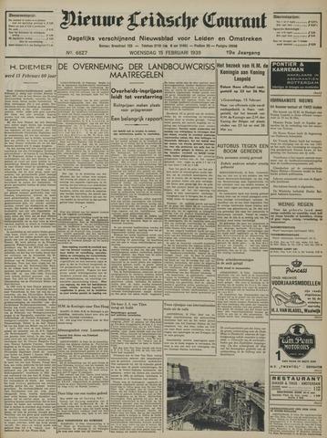 Nieuwe Leidsche Courant 1939-02-15