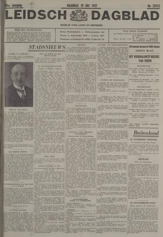 Leidsch Dagblad 1937-07-19