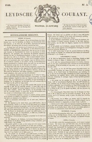 Leydse Courant 1846-01-12
