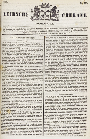Leydse Courant 1875-07-07