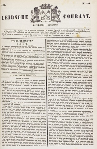 Leydse Courant 1877-08-11