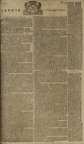 Leydse Courant 1753-03-14