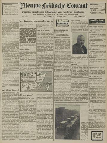 Nieuwe Leidsche Courant 1938-10-17