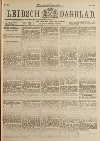 Leidsch Dagblad 1899-09-26