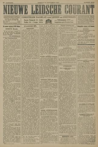 Nieuwe Leidsche Courant 1927-09-27