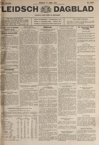 Leidsch Dagblad 1933-04-11