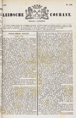 Leydse Courant 1879-08-01