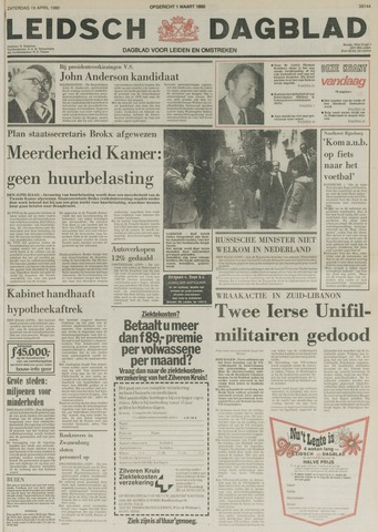 Leidsch Dagblad 1980-04-19