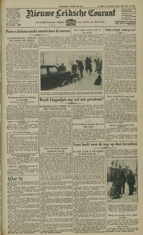 Nieuwe Leidsche Courant 1947-02-05