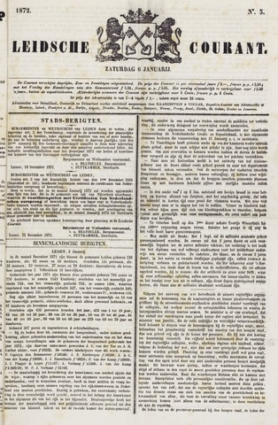 Leydse Courant 1872-01-06