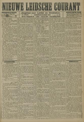 Nieuwe Leidsche Courant 1923-03-15
