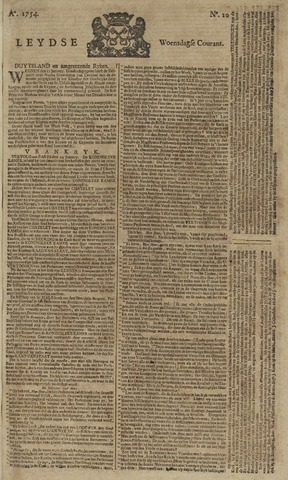 Leydse Courant 1754-01-23