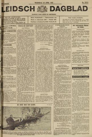 Leidsch Dagblad 1932-04-20