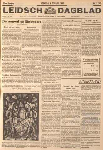 Leidsch Dagblad 1942-02-04